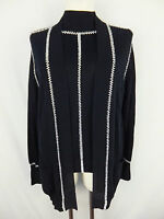 ESCADA Luxus Twin-Set mit Perlen - 42 - schwarz weiss - ein Traum - TOP
