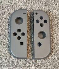 Official Nintendo Grey Black Joy Con Pair Outer Shell Set Replacement