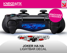 KNR2303 JOKER HA HA | Dualshock 4 PS4 Lightbar Light Bar Decal DS4