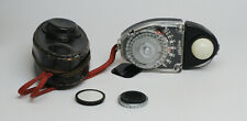 Vintage Brockway Sekonic Studio Incident Light Exposure Meter