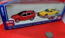 Siku Porsche Cayenne + Trailer + GT