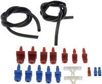Master Cylinder Bleeder Kit SAE + Metric fittings brake fluid bleed Dorman 13911