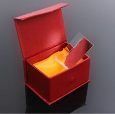 SN9F 5cm Optical Glass Triple Triangular Prism Refractor Physics Experiment