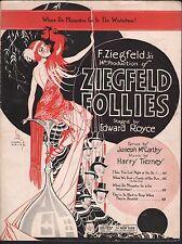 Where Do Mosquitoes Go In the Wintertime 1920 Ziegfeld Follies