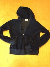 Juicy Couture Black Zip Up Hoodie Size Large MAK