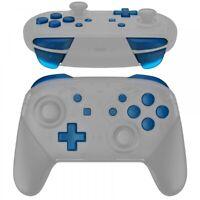 Transparent Blue Repair ABXY ZR ZL L R Keys for Nintendo Switch Pro Controller