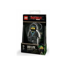 COLE LED LITE KEYCHAIN ninjago lego legos NEW minifigure BLACK ninja MOVIE mini
