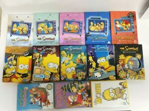 Simpons DVD Season Boxset Collection 12345678910 Movie and Christmas Specials