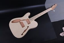 Left hand guitar Kit Guitar Neck Body For Tele telecaster Style Replacement #1