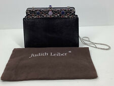RARE! Vintage Judith Lieber Snakeskin/Lizard Embellished Handbag