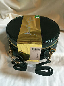 KENDALL + KYLIE Gloria Green Travel Make Up Vanity Case Zipped & Strap NEW