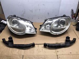 2007-2011 Volkswagen EOS Headlight Passenger & Driver With Mounting Bracket OEM