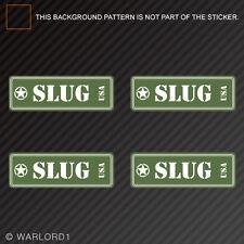 Slug Ammo Can Sticker Set Classic Edition Die Cut Decal shotgun