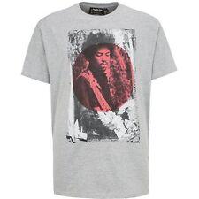 Replika Jeans 'Jimi Hendrix' T-Shirt/Grey - 2XL WAS £35.00, NOW £16.00