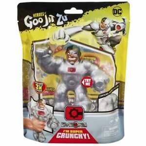 Marvel Heroes of Goo Jit Zu Superheroes - Super Crunchy Cyborg Hero Figure Pack