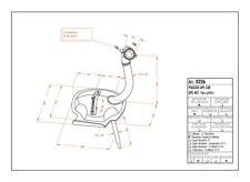 0226 - Marmitta Leovince Sito 2 Tempi Piaggio APE CAR - APE 601 (TIPO PIATTO)