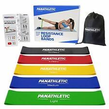 Panathletic Fitnessbänder/Widerstandsbänder, 5er Set, mit Anleitung, eBook au