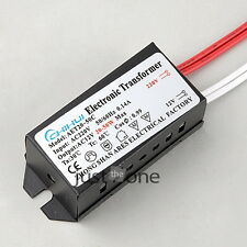 220V-12V Halogen LED Lamp Electronic Transformer Power Supply Driver Adapter New