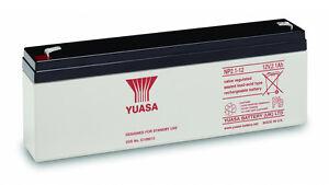 NP2.1-12 Yuasa 2.1Ah 12v Valve Regulated Lead-Acid Battery