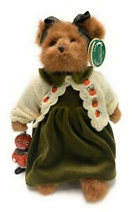 "Bearington Bears Piper And Pumpkin 15"" Plush Bear- #1592 - NWT- 2005"