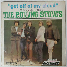 "The ROLLING STONES Get Off My Cloud 1966 MEXICO 7"" EP SEALED 45 Jagger RICHARDS"