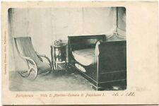 1908 Portoferraio Villa San Martino Camera Napoleone I Livorno France FP B/N VG