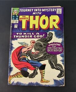 Marvel Comic THE MIGHTY THOR #118 , 1965  G+ (d)