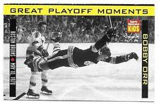 1998 SI For Kids BOBBY ORR Great Playoff Moments STANLEY CUP GOAL Boston Bruins