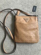 Guess Camel Brown Colour Crossbody Handbag - NEW