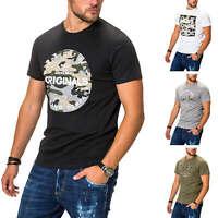 Jack & Jones Herren T-Shirt Print Shirt Kurzarmshirt Short Sleeve Jersey Top