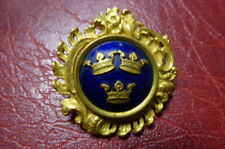 , Sporrong & Co Stockholm (A286) Gold Gilt & Enamel Brooch , Sweden