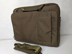 Briggs & Riley Travelware Speedthru Laptop Computer Bag Briefcase VB923 Brown
