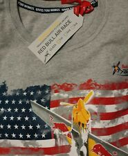 New in Package - Red Bull Air Race & American Flag Tee-Shirt Mens Size Small