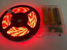 2m long, 120 RED LED, 3AA Battery Powered Waterproof LED Light Strip