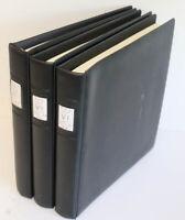 Bund 2001 bis 2011 Lindner-T-Blätter komplett in 3 Ringbinder