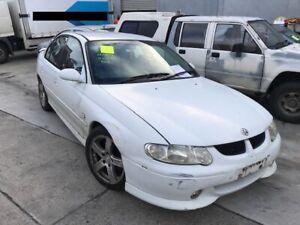 2002 White Holden Commodore Sedan