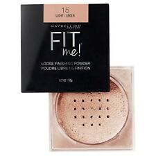 MAYBELLINE Fit Me Loose Finishing Powder LIGHT 15 NEW setting
