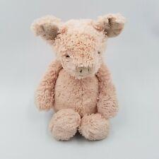 "Jellycat Bashful Pig 12"" Plush Sitting Piglet Stuffed Animal Toy"