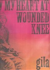 """GILA """"Bury My Heart At Wounded Knee"""" Vinyl LP Das Deutsche Rock-Archiv"""