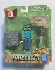 2014 Minecraft Overworld Zombie Figure Series 1 New Sealed