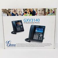 GrandStream GXV3140 IP Multimedia Phone Voice & Color Video New (Open Box)