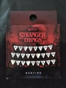 Netflix Stranger Things Glow in the Dark Bunting Party Banner New