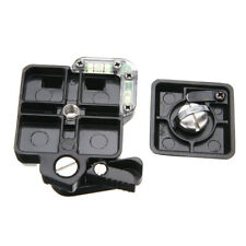 Quick Release Plate Clamp Mount Adapter for Camera Camcorder Tripod Ballhead