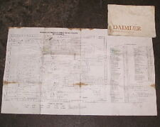 DAIMLER SOVEREIGN 4.2 SERIES 2 WIRING DIAGRAM AND DRIVERS HANDBOOK 1977 ON