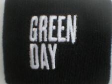 GREEN DAY logo white/black SWEATBAND official merchandise - no longer made