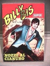 SUPER BILLY BIS Editrice Universo 1972 N 17 Fumetti Narrativa per Ragazzi di e