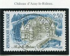 STAMP / TIMBRE FRANCE OBLITERE N° 2464 AZAY LE RIDEAU CHATEAU