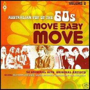 60's (2 CD) MOVE BABY MOVE - AUSTRALIAN POP OF THE 60's - Volume 2 *NEW*