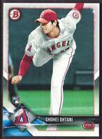 2018 Bowman Baseball #49 Shohei Ohtani RC Los Angeles Angels Rookie Card