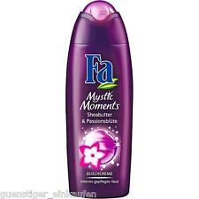 (8,76€/L) 250ml Fa Mystic Moments Sheabutter & Passionsblüte Duschcreme